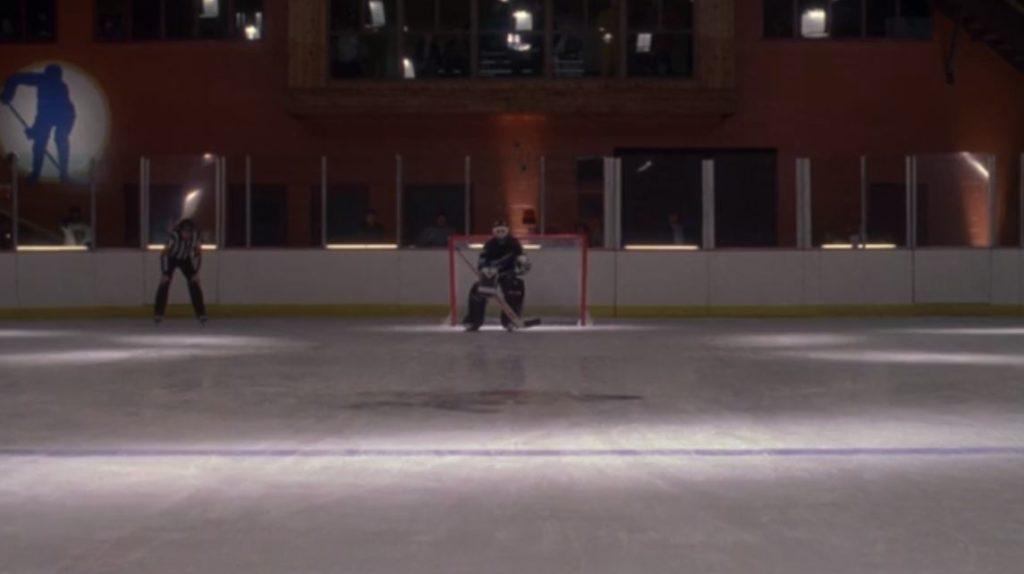 Hawks Shootout goalie