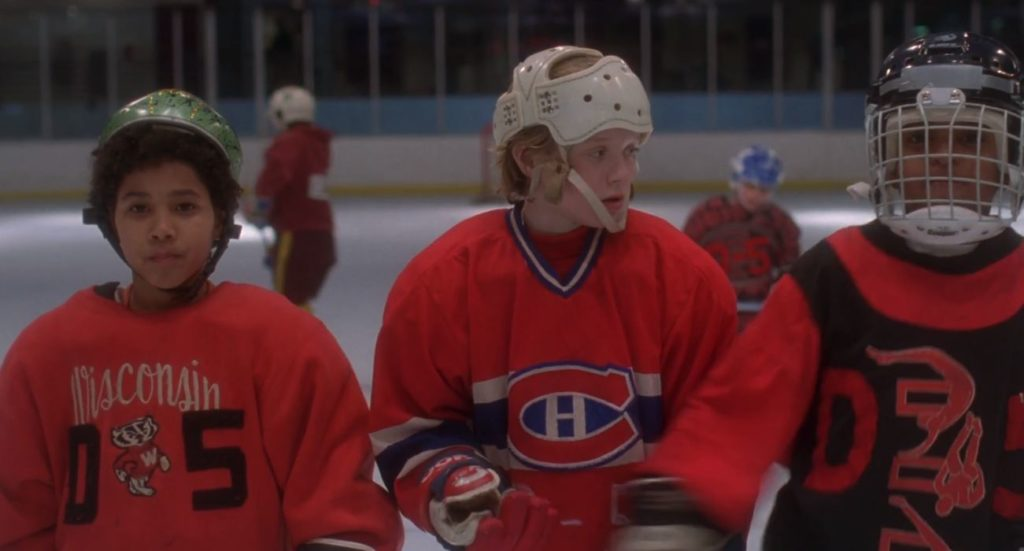 The Oreo Line from the Mighty Ducks