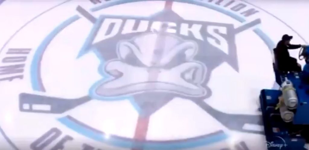 New Mighty Ducks logo