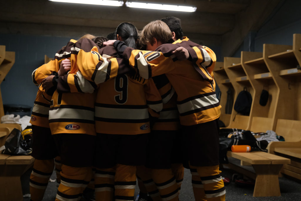 The Mighty Ducks: Game Changers team